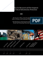 The National Plan for Research and Development In Support of Critical Infrastructure Protection