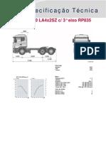 G 420 LA4x2SZ cslash 3° eixo RP835