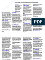 Directory of Purchasing and Supply Management Associations and ...