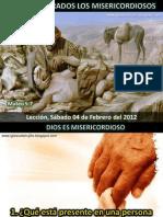 Lección 05 - Bienaventurados los misericordiosos