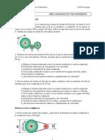 Unidad 5 - Mecanismos de transmisión - Problemas