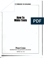 How to Make Improvised Tools Peace Corp 1980