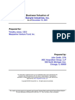 Sample Valuation Report2