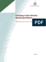 Choosing a Non-Intrusive