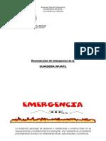 Emergencia GUARDERIA