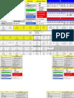game call sheet