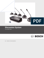 Manual Conference Sys Bosh