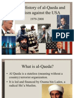 Modern History of al-Qaeda and Terrorism Against the USA
