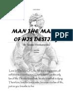 Man the Maker of His Destiny by Swami Vivekananda