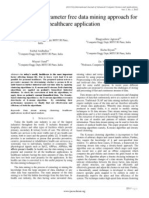 Paper 8-An Adaptive Parameter Free Data Mining Approach for Healthcare Application