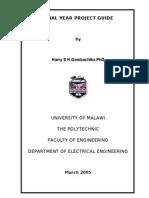 D5E Project Guide