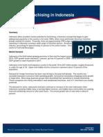 2011 Franchise Market Brief - Indonesia