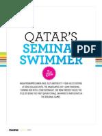 Qatar's Seminal Swimmer