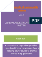 CH-3-Gear Box