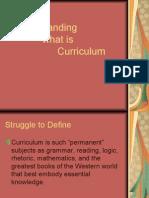 Curriculum DefinitionsEDL630