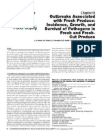 Outbreaks Associated With Fresh Produce Incidence, Growth, And Survival of Pathogens in Fresh and Fresh-Cut Produce