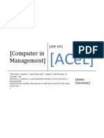 Computer in Management Online