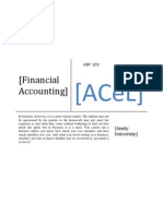 Financial Accounting for Online