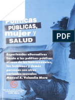 Experiencias alternativas frente a las políticas públicas