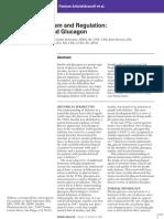 Glucose Metabolism - Insulin and Glucagon