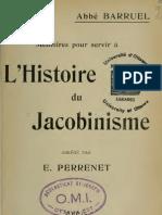 Barruel Augustin Abbe - Abrege Des Memoires Pour Servir a l Histoire Du me Par E. Perrenet
