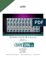 Spider Manual Ver1