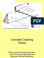 Concrete Cracking - Theory