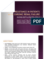 Jurnal-Aspirin Resistance in Patients With Chronic Renal Failure