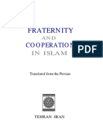 Fraternity and Co-operation in Islam