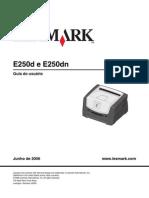 Manual Lexmark E250DN