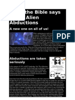 What the Bible Says About Alien Abductions