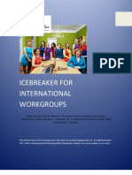 Icebreakers for International Workgroups