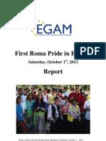 EGAM - European Roma Prides - Report
