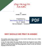 Why Pray in Arabic?