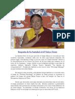 Biografía de S.S. Sakya Trizin