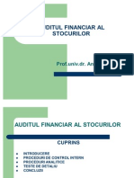 Auditul Financiar Al Stocurilor