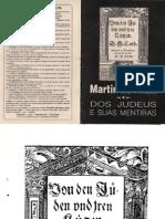 Dos Judeus e Suas Mentiras