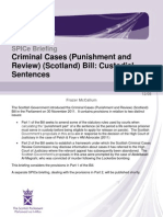 SB 12-08 Criminal Cases (Punishment and Review) (Scotland) Bill