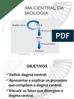 o Dogma Central Da Biologia