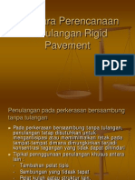 Penulangan Riqid Pavement