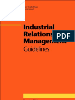 Industrial Relations Management