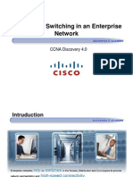 CCNA Dis3 - Chapter 3 - Switching in a Enterprise Network_ppt [Compatibility Mode]