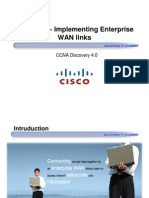 CCNA Dis3 - Chapter 7 - Implementing Enterprise WAN Links_ppt [Compatibility Mode]