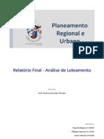 Relatório final PRU
