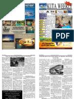 "Kuta Weekly-Edition 270 ""Bali""s Premier Weekly Newspaper"""