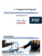 CCNA Dis4 - Chapter 9 - Prepare the Proposal_ppt [Compatibility Mode]