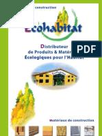 Catalogue Eco Habitat 1 Materiaux