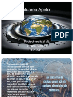 poluarea apei-