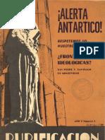 Revista Purificacion - Marzo 1977 - Alerta Antartico