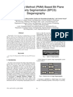 Pixel Mapping Method (PMM) Based Bit Plane Complexity Segmentation (BPCS) Steganography